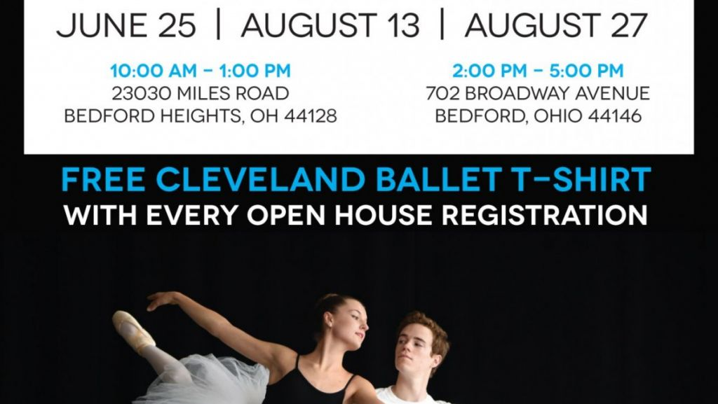 School of Cleveland Ballet Hosts Open House